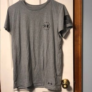 3/$25 Under Armour classic freedom tee